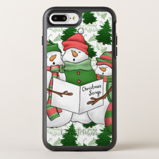 3 Snowman Carolers OtterBox Symmetry iPhone 8 Plus/7 Plus Case
