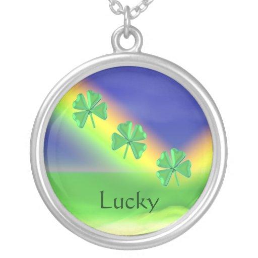 3 St. Patricks Day 4-Leaf Clovers Jewelry