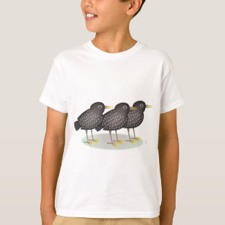 3 starlings T-Shirt
