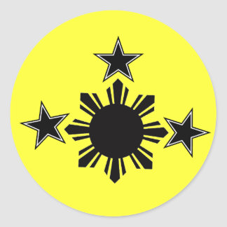 3 Stars and A Sun Stickers