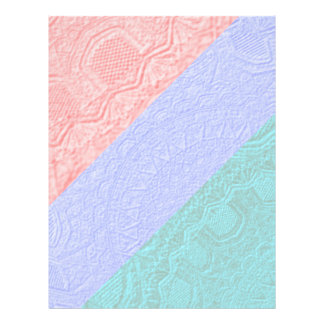 3 Stripe Checks :  Silky Engraved Style Light Prin Custom Flyer