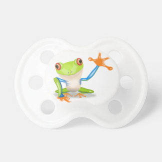 3 teats frogs pacifier
