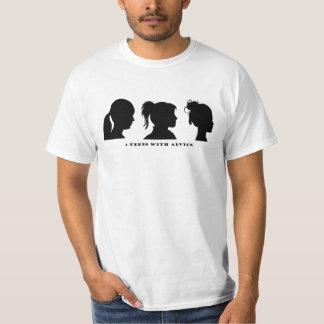 3 Teens with Advice T Shirt