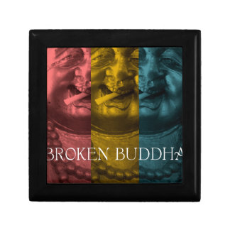 3 times the  broken buddha gift box