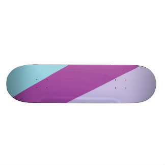 3 tone colored Deck- Gem Interactive Skate Boards