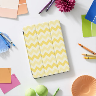 3 Tone Yellow Zig Zag iPad Pro Cover