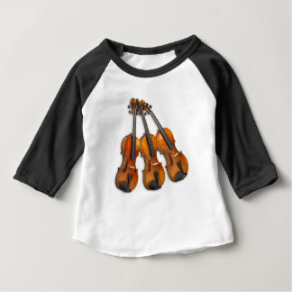 3 VIOLINS BABY T-Shirt