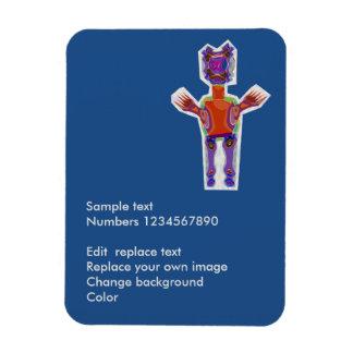 "3""x4"" Photo Magnet : Decorative Art by Navin Joshi Rectangular Photo Magnet"