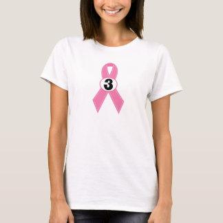3 Year Breast Cancer Survivor T-Shirt