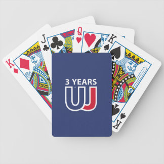 3 Years Of Union J ack Bicycle Playing Cards
