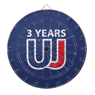 3 Years Of Union J ack Dartboard
