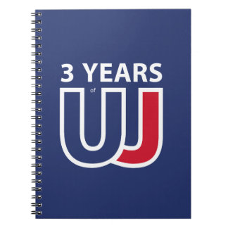 3 Years Of Union J ack Notebook