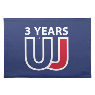 3 Years Of Union J ack Placemat