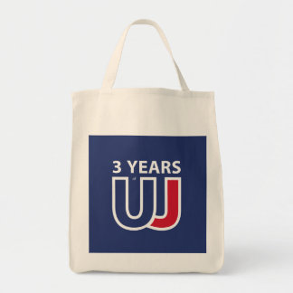 3 Years Of Union J ack Tote Bag