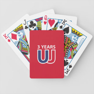 3 Years of Union Jack Bicycle Playing Cards