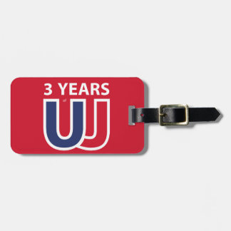 3 Years of Union Jack Luggage Tag