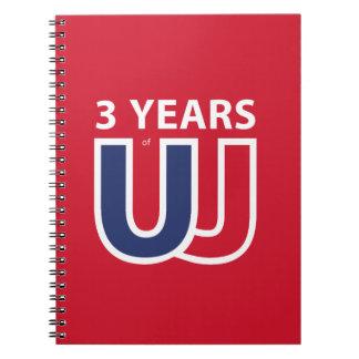 3 Years of Union Jack Notebooks