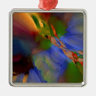 3b Silver-Colored square decoration
