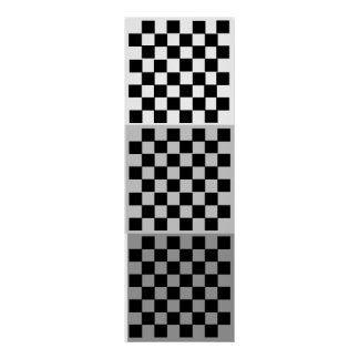 3D (8x8x3) Chess TAG Grid (Fridge Game) Poster