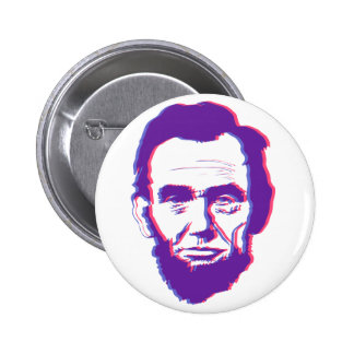 3d abe lincoln pinback buttons
