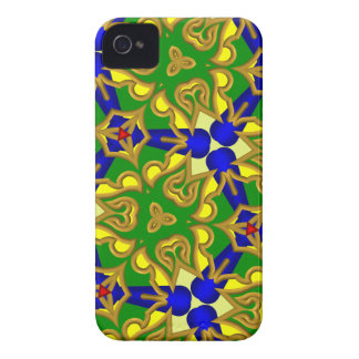 3D Abstract Pattern Blackberry Bold Case