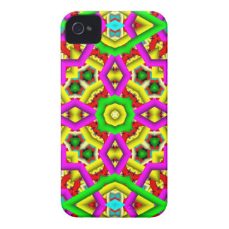3D Abstract Pattern Blackberry Bold Case iPhone 4 Cover