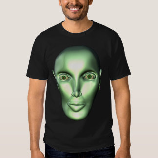 3D Alien Head Extraterrestrial Being Kids Dark T-s Tee Shirt