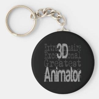 3D Animator Extraordinaire Key Ring
