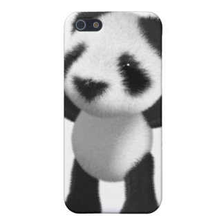 3d Baby Panda Cheers Hooray! iPhone 5 Case