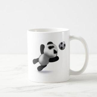 3d Baby Panda Goal! Coffee Mugs