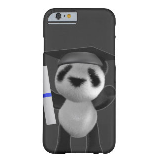 3d Baby Panda Graduate (editable) Barely There iPhone 6 Case