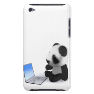 3d Baby Panda Laptop iPod Touch Cases