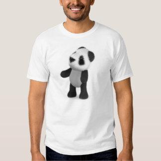 3d Baby Panda Looks Up Shirts