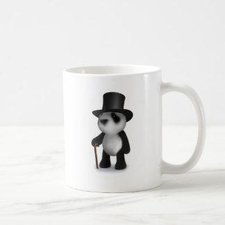 3d Baby Panda Top Hat Coffee Mug