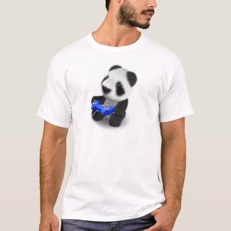 3d Baby Panda Videogamer T-Shirt
