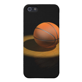 3d Basketball in Spotlight iPhone 5/5S Cases