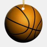 3d Basketball Ornament