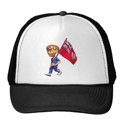 3D Bermuda Trucker Hat