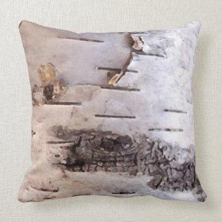 3D Birch Bark Cushion