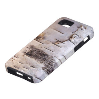 3D Birch Bark Tough iPhone 5 Case