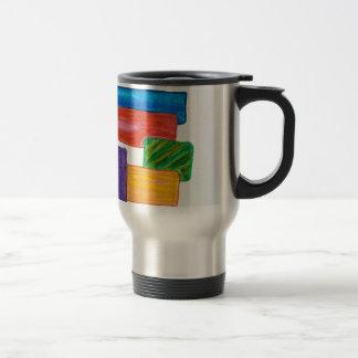 3D blocks Mugs