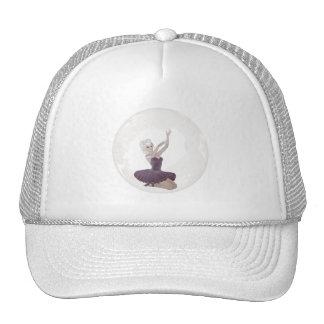 3D Bubble Ballerina 2 Mesh Hats