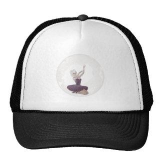 3D Bubble Ballerina 2 Trucker Hats