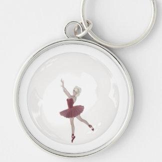 3D Bubble Ballerina 3 Keychains