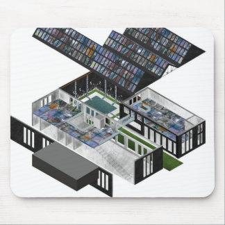 3D Building Mouse Pad