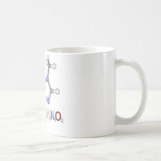 3D Caffiene Molecule Mug
