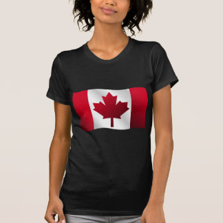 3D Canada Flag T-shirts
