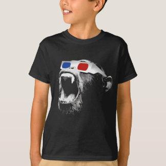3D Chimp T-Shirt