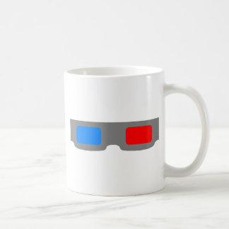 3D Cinema Glasses Coffee Mug
