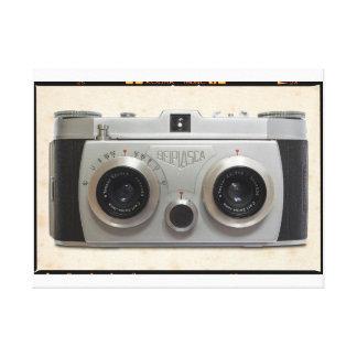 3D Classic Camera Canvas Print